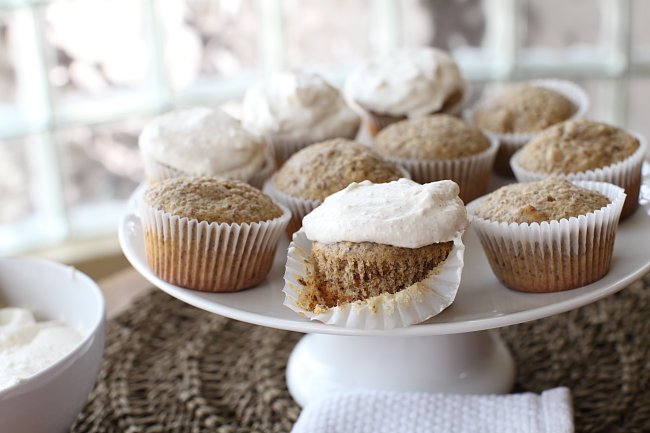 Walnut-Flax-Cupcakes